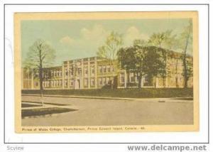 Prince of Wales College, Charlottetown, P.E.I.,PU 1949