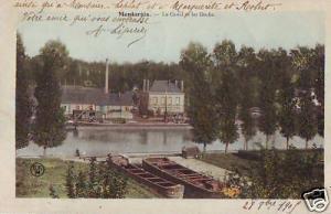 CPA Loiret Montargis Le Canal et les Docks (p84709)