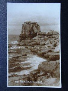 Dorset PORTLAND BILL Pulpit Rock - Old RP Postcard by E.A. Sweetman