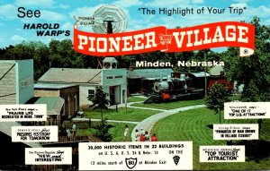 Nebraska Minden Harold Warp's Pioneer Village