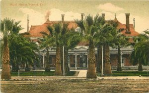 California C-1910 Hotel Hemet Postcard #5008 Riverside hand colored 11133