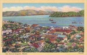 Port view , ACAPULCO , Mexico , 30-40s