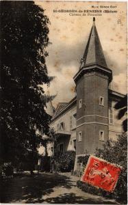 CPA AK St-GEORGES-de-RENEINS - Chateau de Pissoudan (572391)