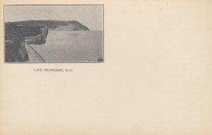 CAPE BLOMIDON, Nova Scotia, Canada, 1901-07; View Of Bay