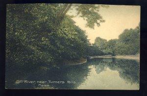 Turners Falls, Massachusetts/Mass/MA Postcard, Fall River