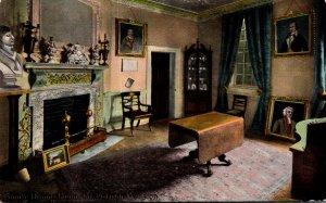 Virginia Mount Vernon Washington's Mansion The Family Dining Room