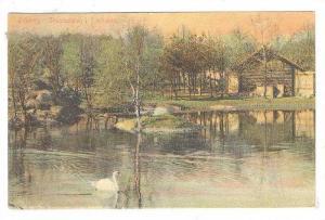 Goteborg , SWeden , PU-1909 ; Svandammen i Fjortparken