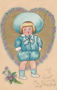 VALENTINE'S DAY: TUCK DAINTY DIMPLES Series No.3 , 1910-10s, # 5