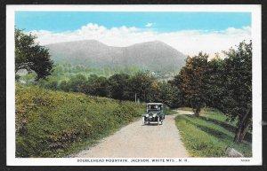 Doublehead White Mountains Jackson New Hampshire Unused c1910s