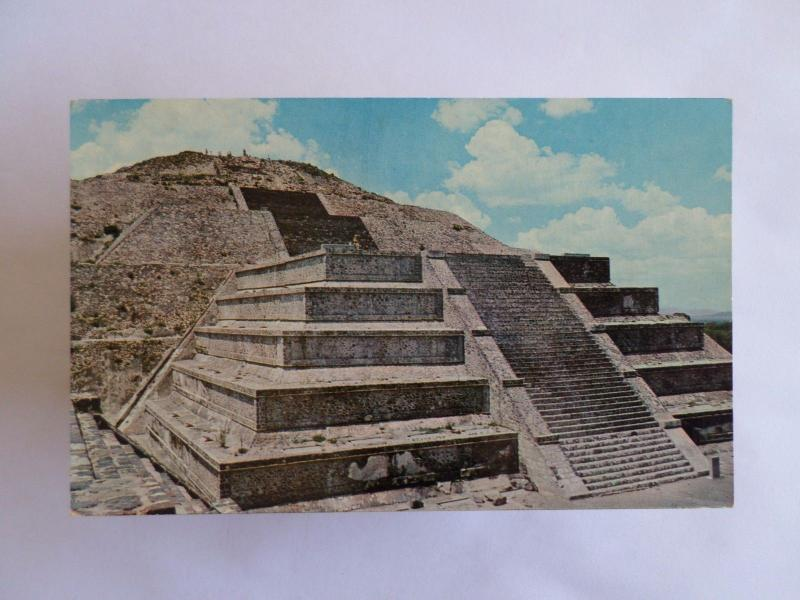 MEXICO SAN JUAN TEOTIHUACAN MOON PYRAMID ARCHAEOLOGICAL ZONE 1960 YEARS PC z1
