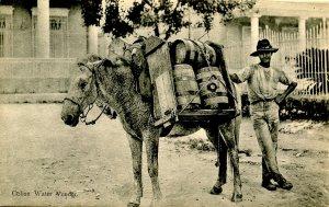 Cuba - Water Vendor