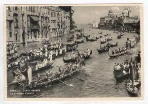 RP  VENEZIA, Italy ,40-60s, Canal Grande, La Storica Regata