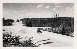 RP: Highway near Louglac , Ontario , Canada , 1930-40s ; Thunder Bay