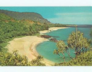 Unused Pre-1980 LUMAHAI BEACH Kauai Hawaii HI d6966