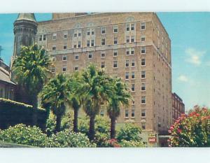 Unused Pre-1980 HOTEL SCENE Galveston - Near Houston Texas TX F6814