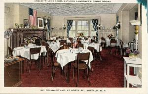 NY - Buffalo. Kathryn Lawrence's Dining Rooms, The Ansley Wilcox Room