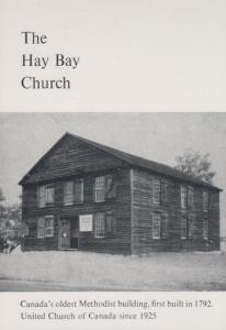 The Hay Bay Oldest Methodist Church in Adulphustown Ontario Canada Postcard
