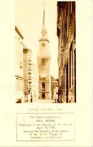 MA - Boston. Christ Church - RPPC