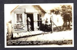 MO Uncle Ike Post Office NOTCH MISSOURI Real Photo RPPC