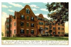 MA - South Hadley. Mt Holyoke College, Pearson Hall