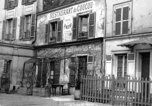 France Paris Restaurant du Coucou Vincent 1900