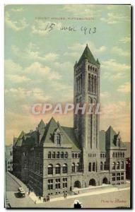 Postcard Old Court House Pittsburg