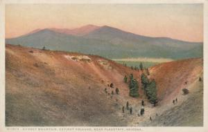 FLAGSTAFF , Arizona, 1910-20s; Sunset Mountain, Extinct Volcano