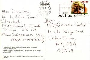 Canada - Prince Edward Island. Confederation Bridge and MV Abegweit