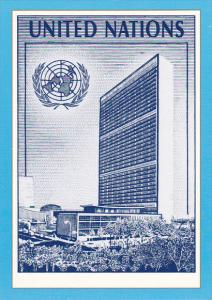 United Nations Postal Admin Adaption Of $2.00 Definitive 1991