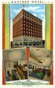 Karcher Hotel - Waukegan, Illinois IL