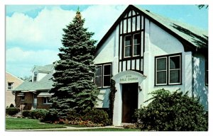 1950s/60s Zion Bible Church and Parsonage, Zion, IL Postcard *5N(3)19