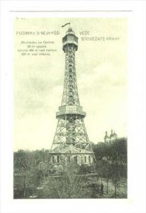 Pozdrav S Nejvyssi , Veze Stovezate Prahy, Czech Republic 1920-40s