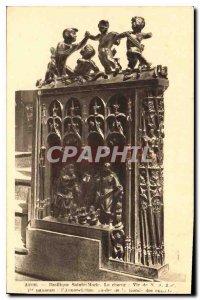 Postcard Auch Old St. Mary's Basilica