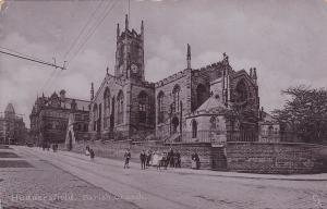 HUDDERSFIELD , Yorkshire , England, PU-1905 TUCK ; Parish Church