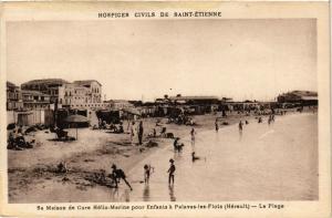 CPA St-ÉTIENNE Maison de Cure Helio-Marine Enfants a Palavas-les-Flots (401885)