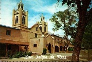 New Mexico Albuqurque Old Town San Felipe De Neri