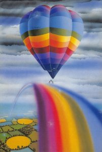 Art Postcard, G-BNAU by Mark Pacan No.9 18Z