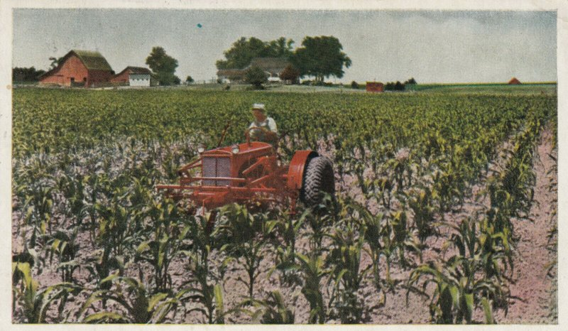 WC Tractor & Cultivator , 1938