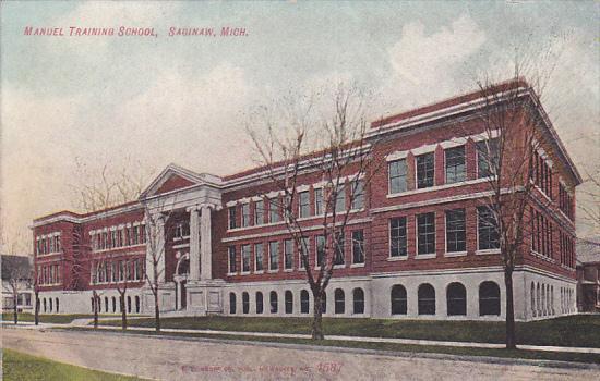 Manuel Training School, SAGINAW, Michigan, 00-10s
