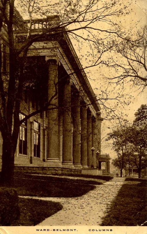 TN - Nashville. Ward-Belmont College. Columns