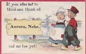 Pennant Series Aurora Nebraska 1913