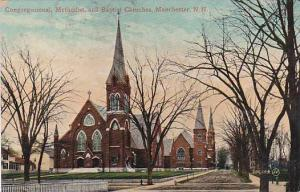 New Hampshire Manchester Congregational Methodist And Baptist Churches