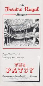 The Patsy Barry Conners Rare Theatre Royal Margate Kent Programme