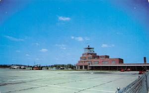 Louisville Kentucky~Standiford Field Airport~Four-Prop Plane~Control Tower c1960