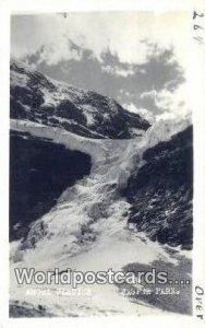 Real Photo Angel Glacier Jasper Park Canada Writing On Back