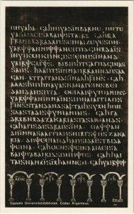 CPA AK Codex Argentus - Silverbibeln SWEDEN (1119704)