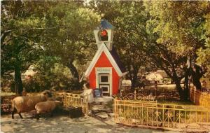 Oakland California~Children's Fairyland: Mary Had a Little Lamb~Red Schoolhouse