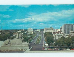 Unused Pre-1980 TOWN VIEW SCENE Winnipeg Manitoba MB p8195