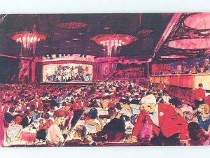Damaged Back Pre-1980 SANDS CASINO HOTEL Las Vegas Nevada NV AE0956