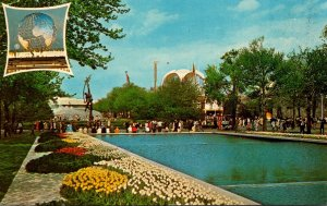 New York World's Fair 1964-1965 Pool Of Reflections & The Court Of Peace